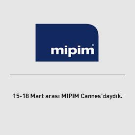 15-18 Mart arasında MIPIM Cannes'daydık.