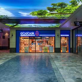 Alışveriş Sokağı'mızda E-bebek mağazası açıldı.