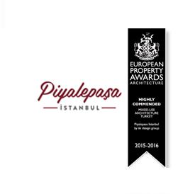 Property Awards tarafından Avrupa'nın En İyi Karma Kullanım Mimarisi kategorisinde 'Highly Commended Award' ödülüne layık görüldük.